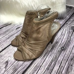 Vince Camuto Archer Genuine Leather High Heels 10
